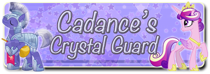 Cadance's Crystal Guard